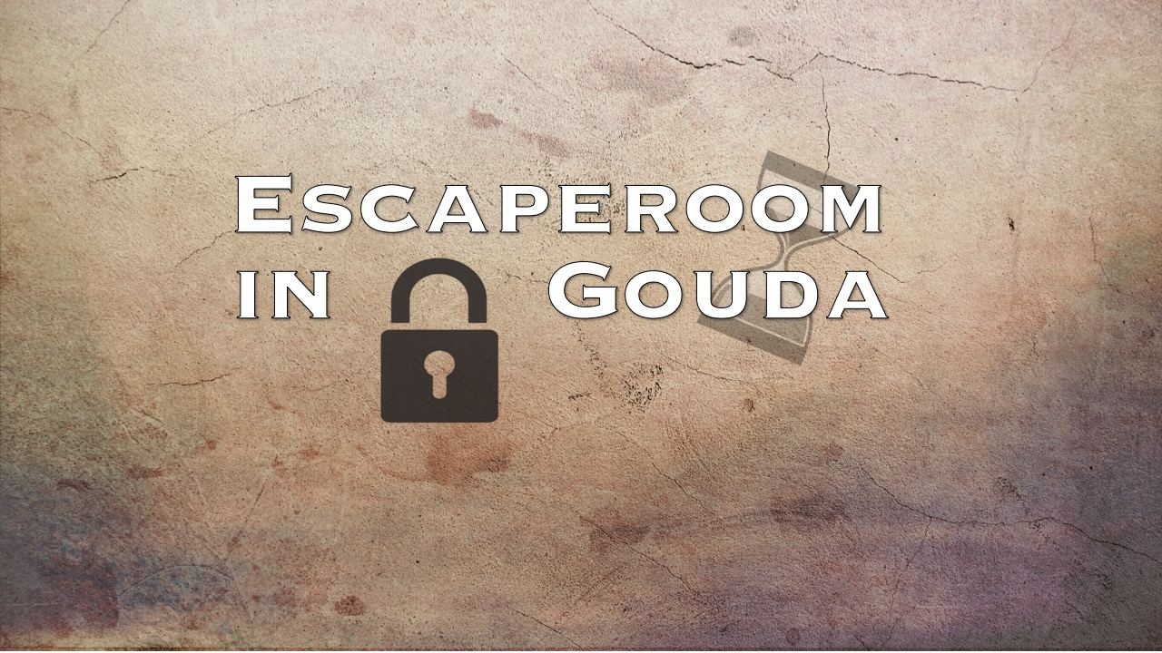 Logo breed escaperoom in Gouda